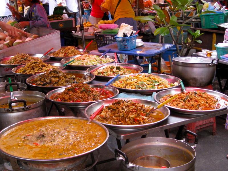 Уличная еда в Паттайе
