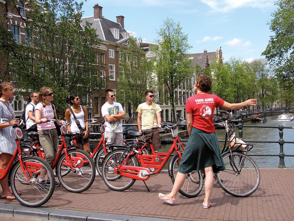 Велосипедный тур по Амстердаму