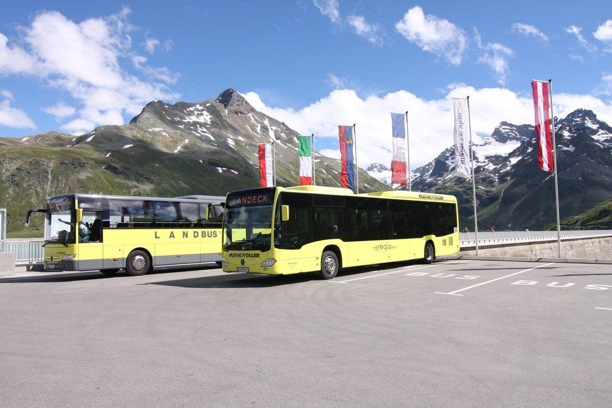 Автобус из  Ландек-Цамс до Ишгля
