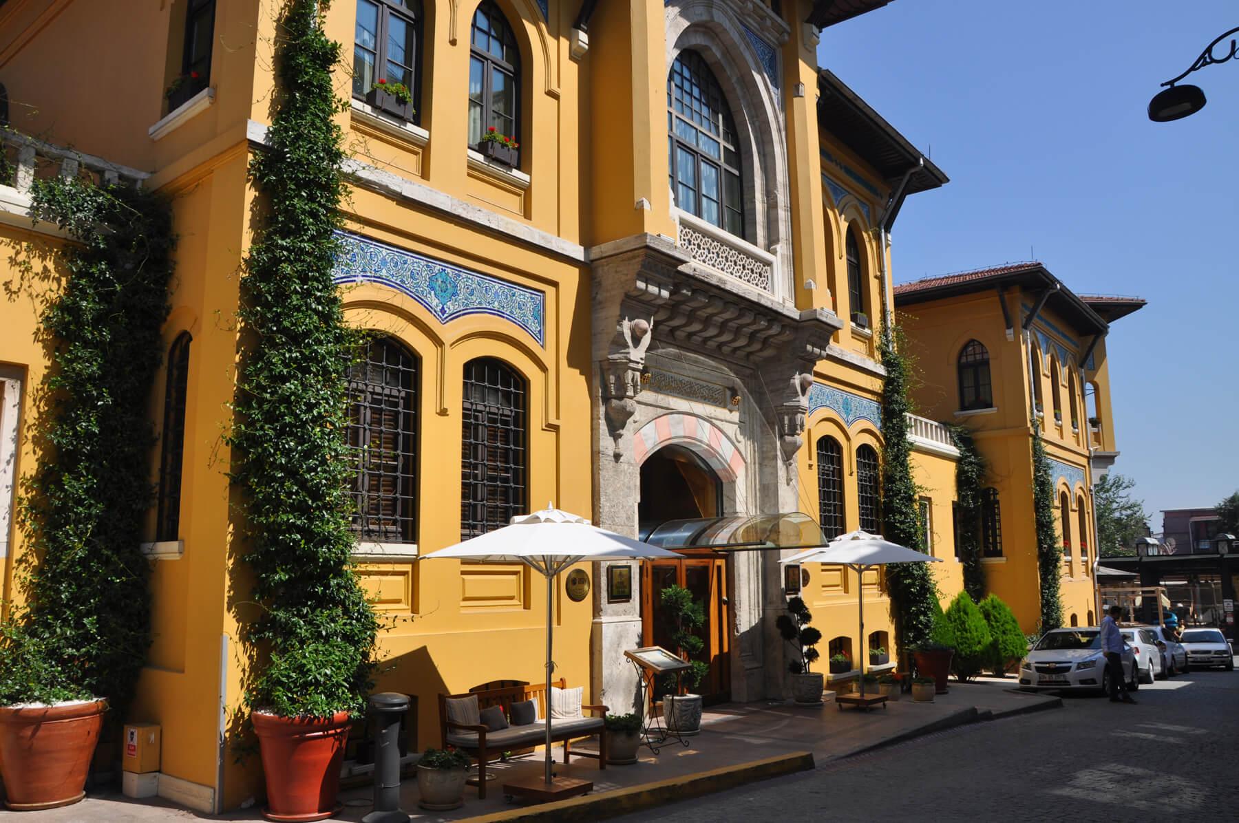 Отели в Стамбуле в районе Султанахмет
