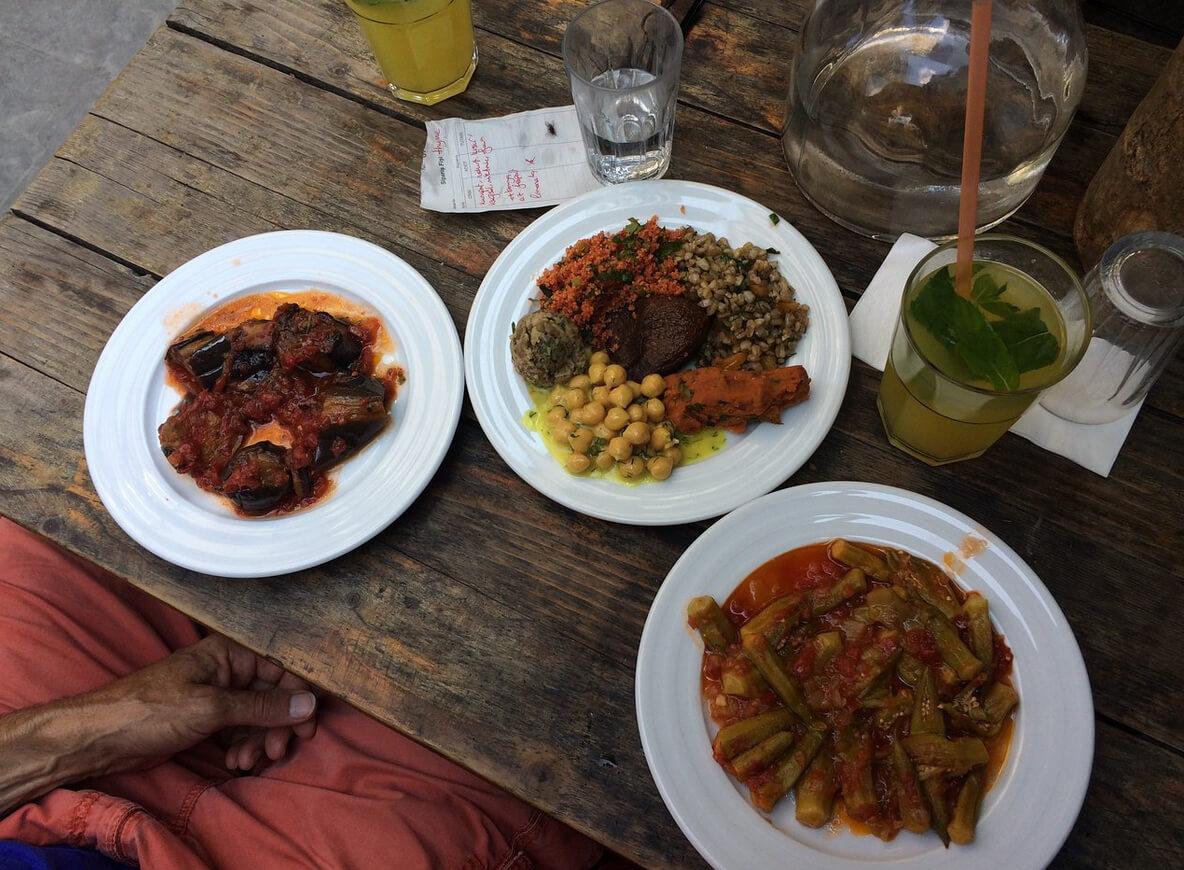 Завтрак в кафе Galata Kitchen