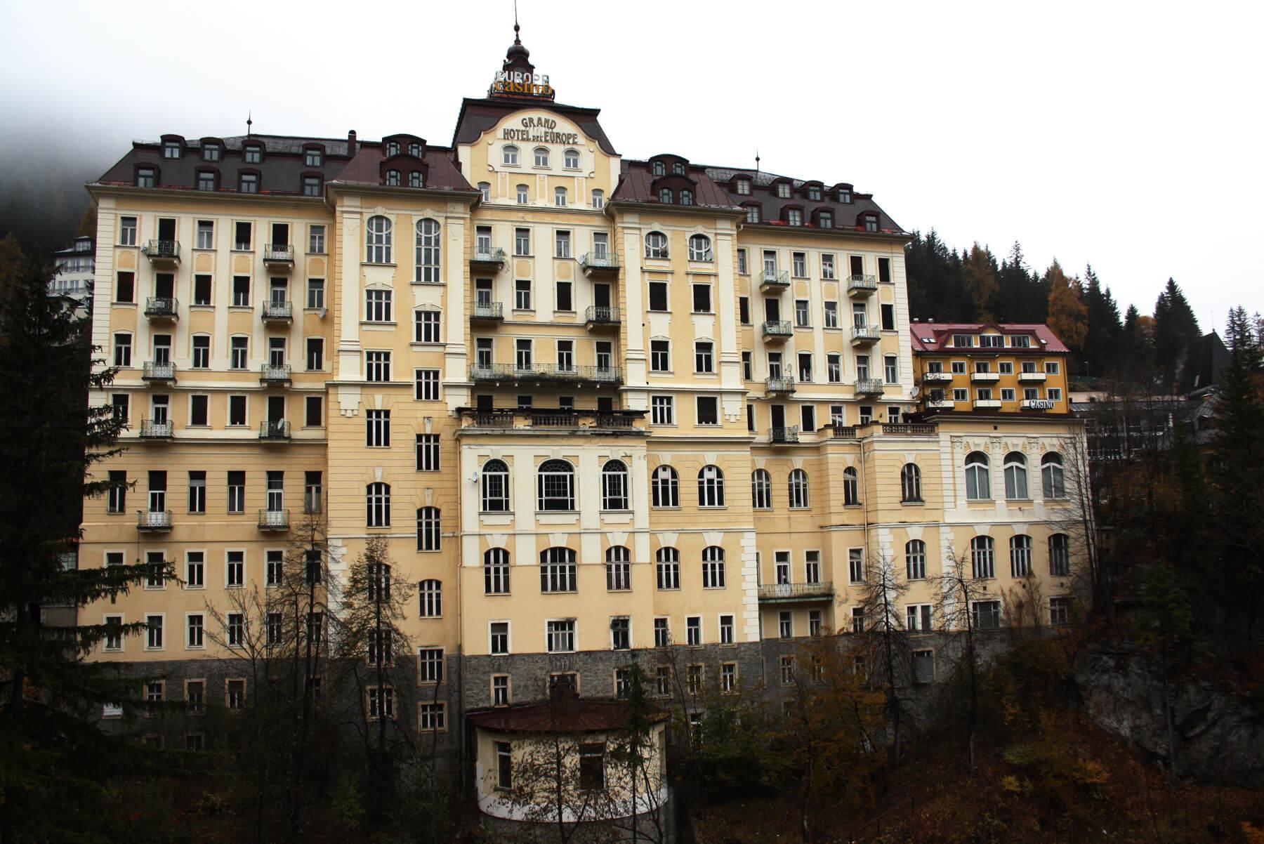 Отель Grand Hotel de l'Europe