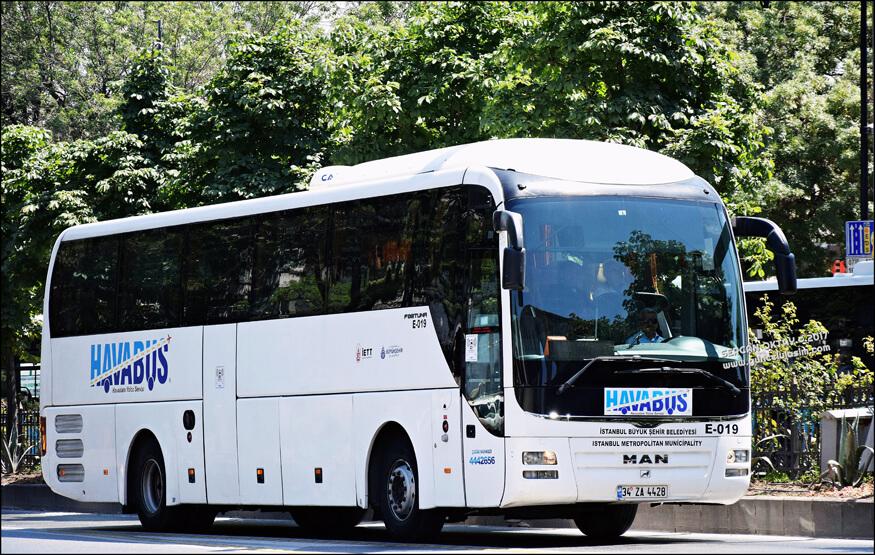 Автобус компании HAVABÜS