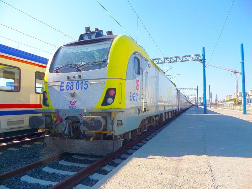 На ЖД вокзале Halkalı