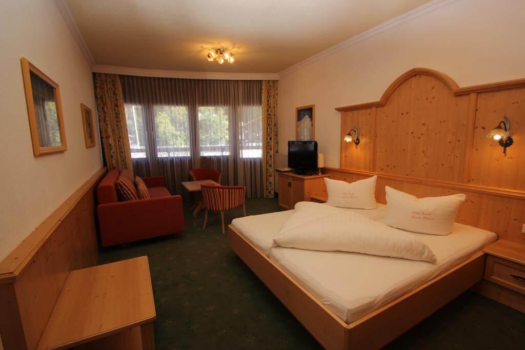 Номер в 4* отеле Hotel Garni Monte Bianco