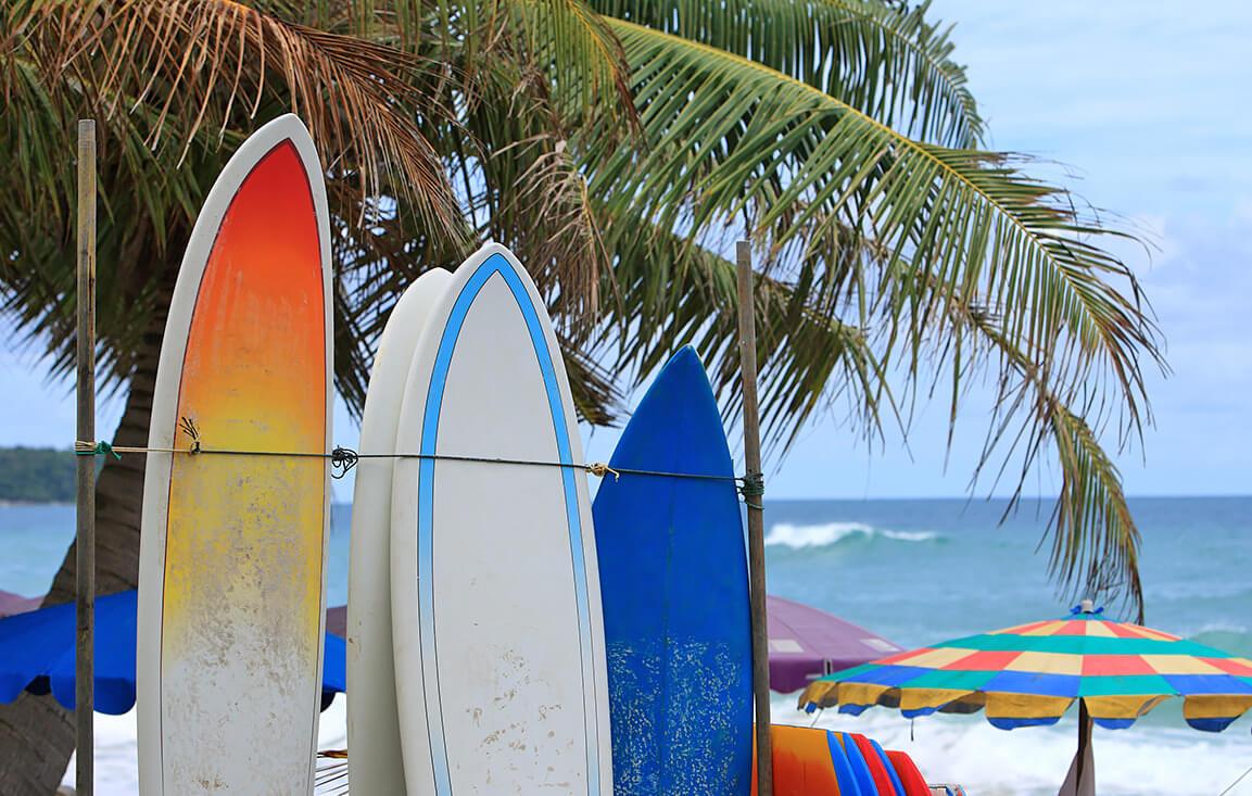 Снаряжение для занятий серфингом