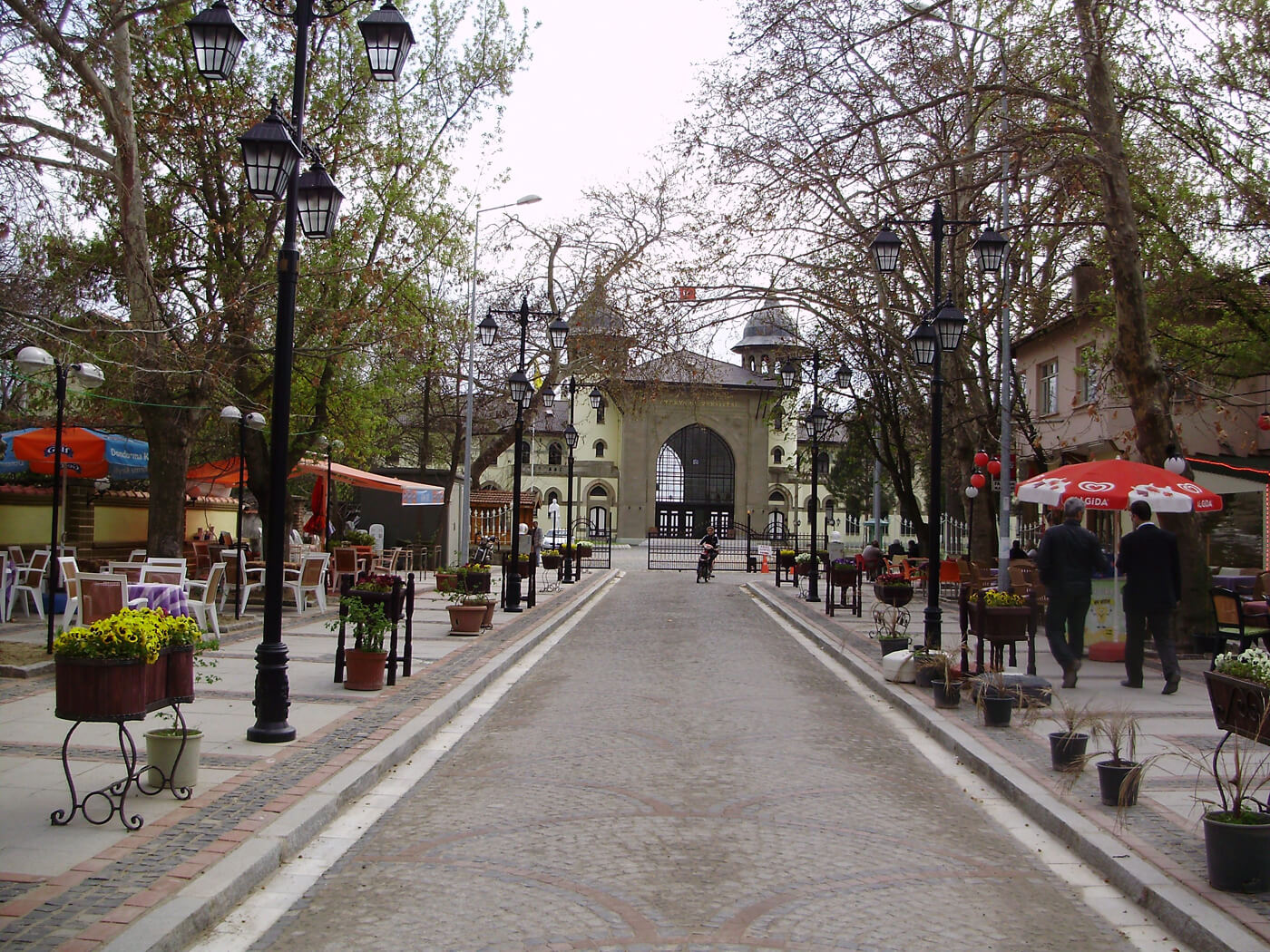 Пешеходная улица Karaagac