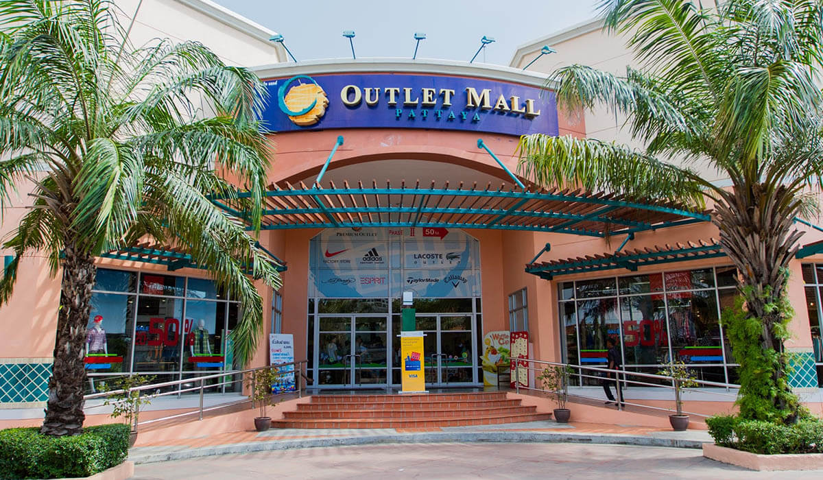 Магазин Outlet Mall Pattaya