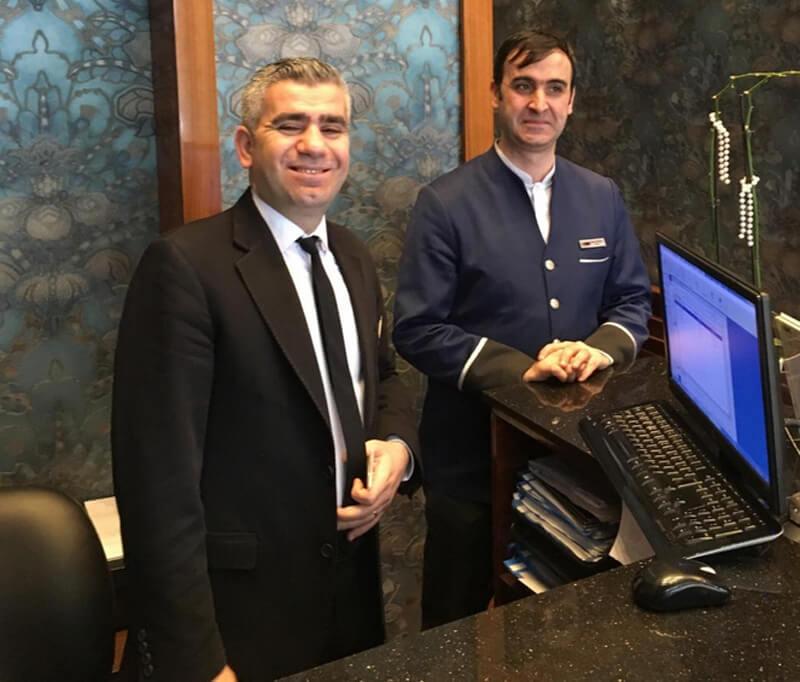 Дружелюбный персонал отеля Polatdemir Hotel