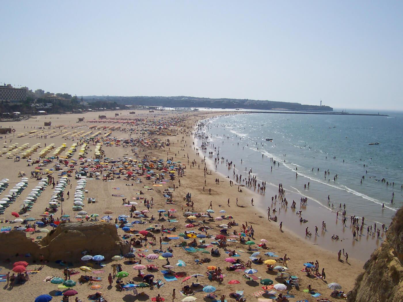 Пляж Praia da Rocha