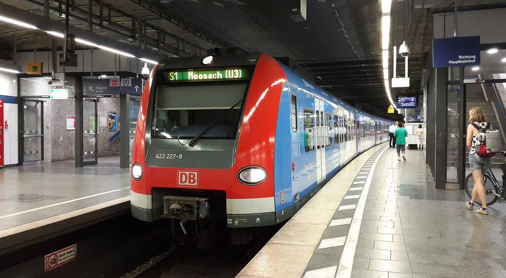 Электричка S-Bahn