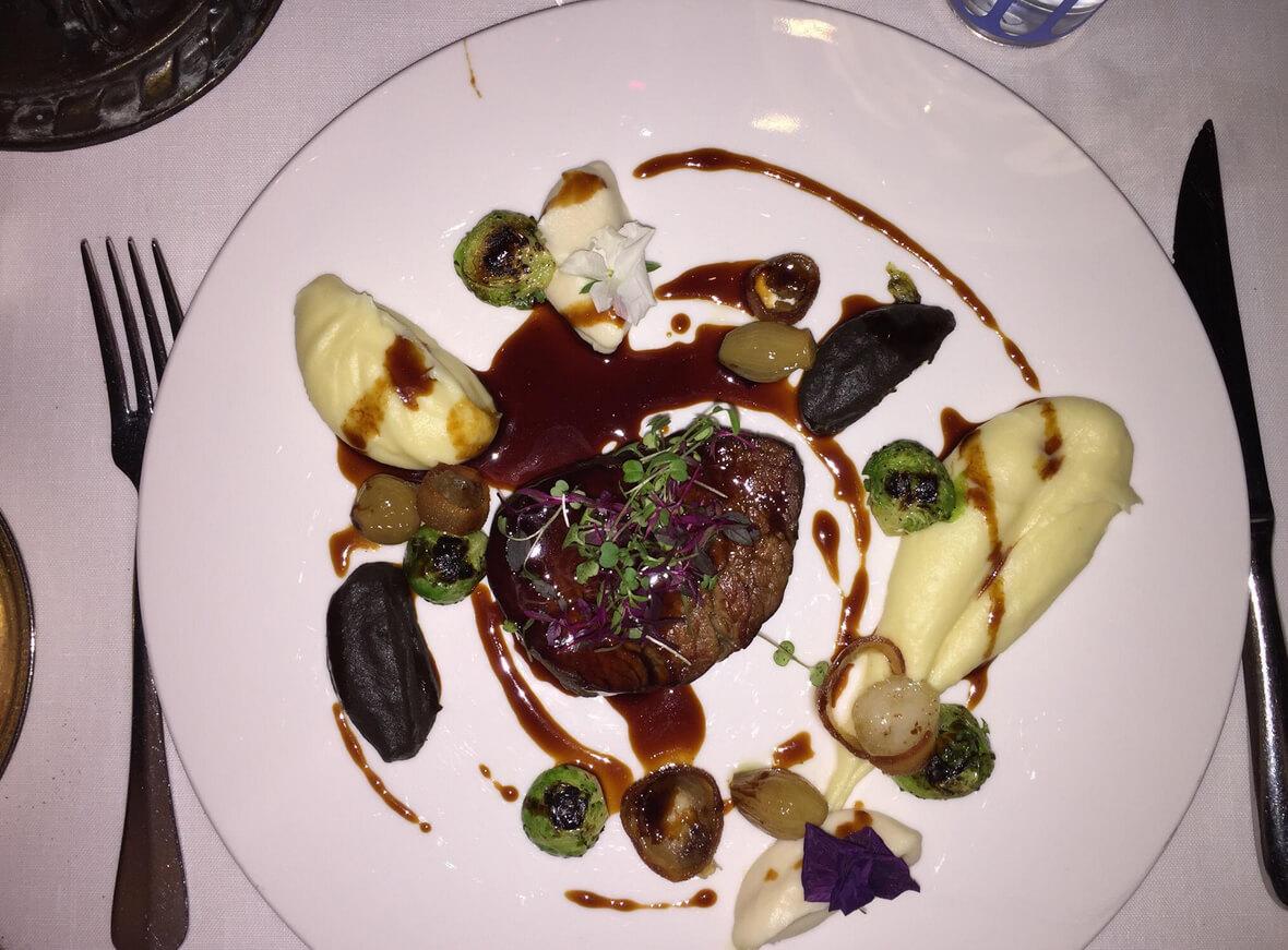 Ужин в ресторане Ulus 29