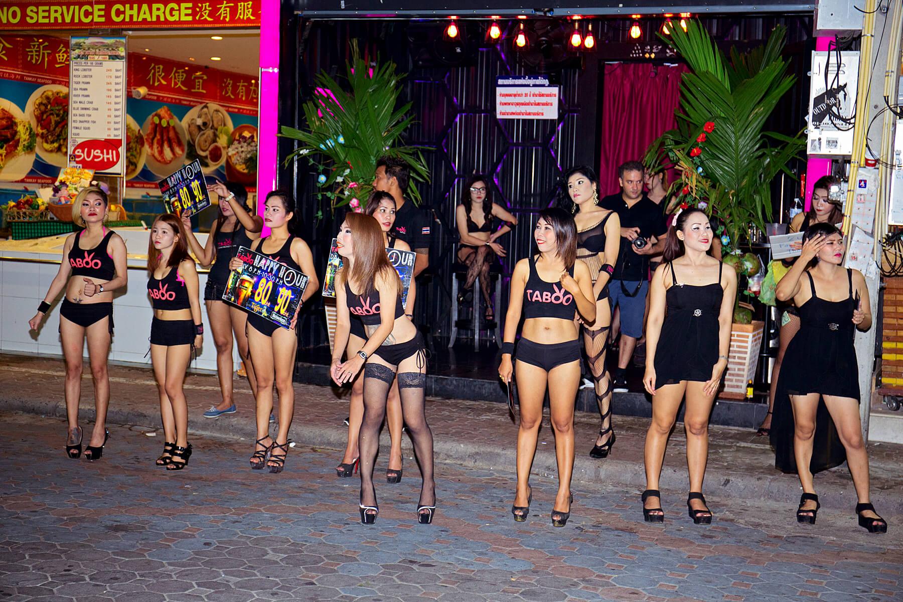 В Таиланде проституция официально запрещена