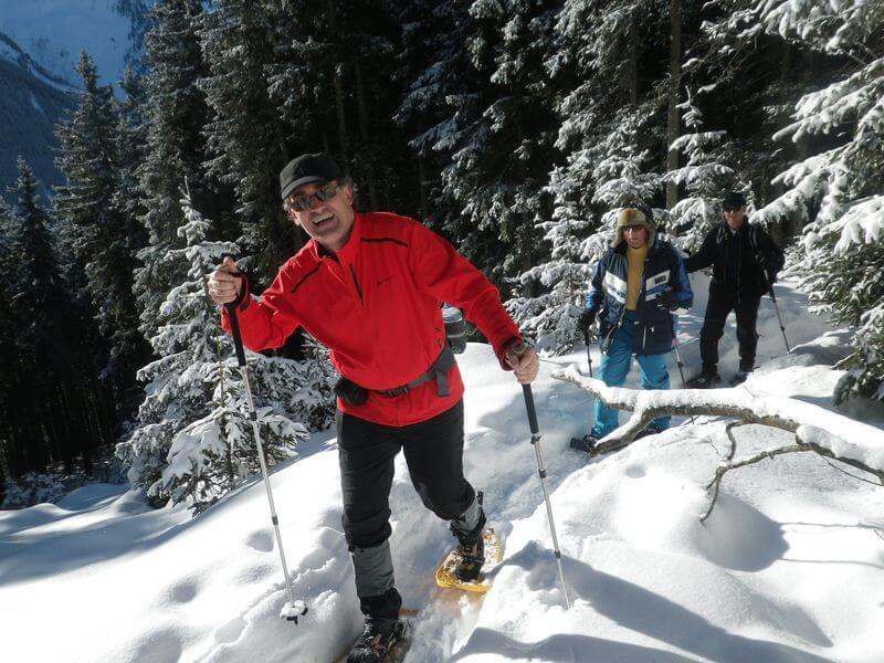 Прогулка в снегоступах