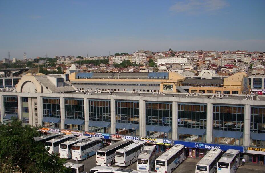 Стамбульский автовокзал Esenler Otogarı