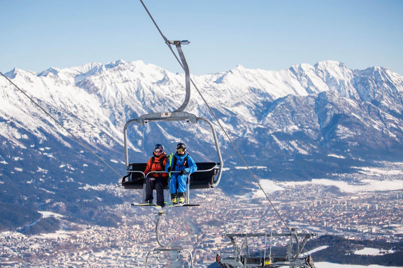 Подъемник в регионе Olympiaworld Skipass