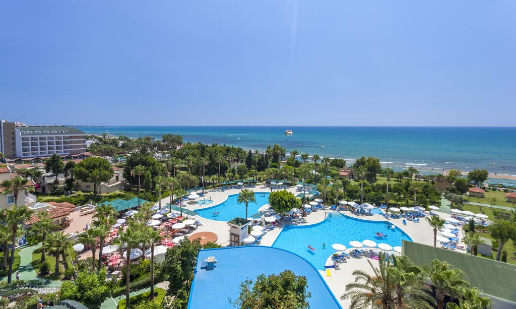 Отель İz Flower Side Beach Hotel в Сиде