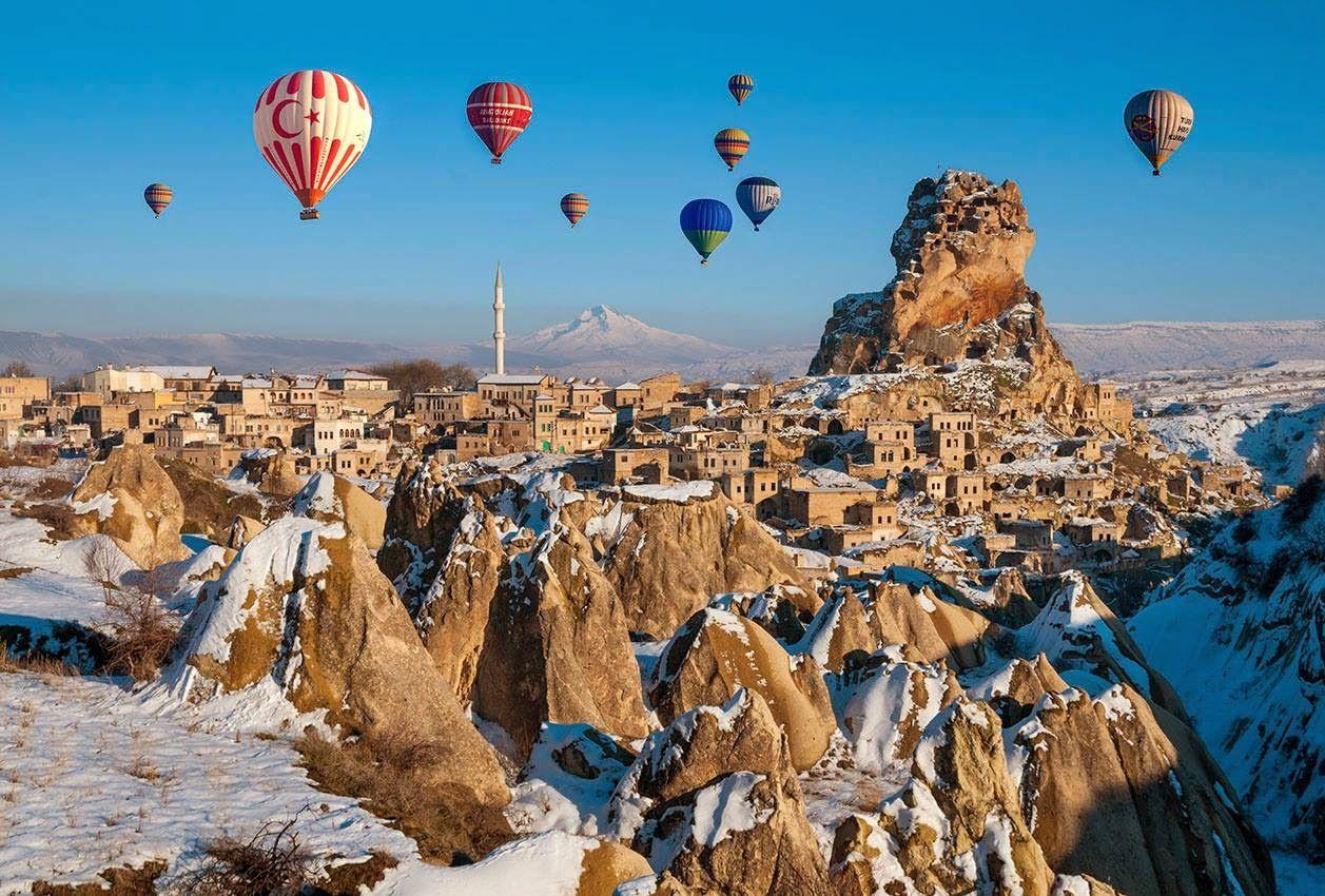 Воздушные шары над Гёреме
