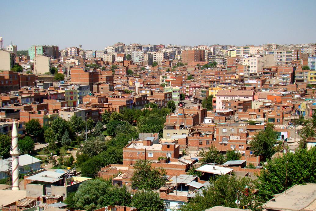 Диярбакыр – город в Турции