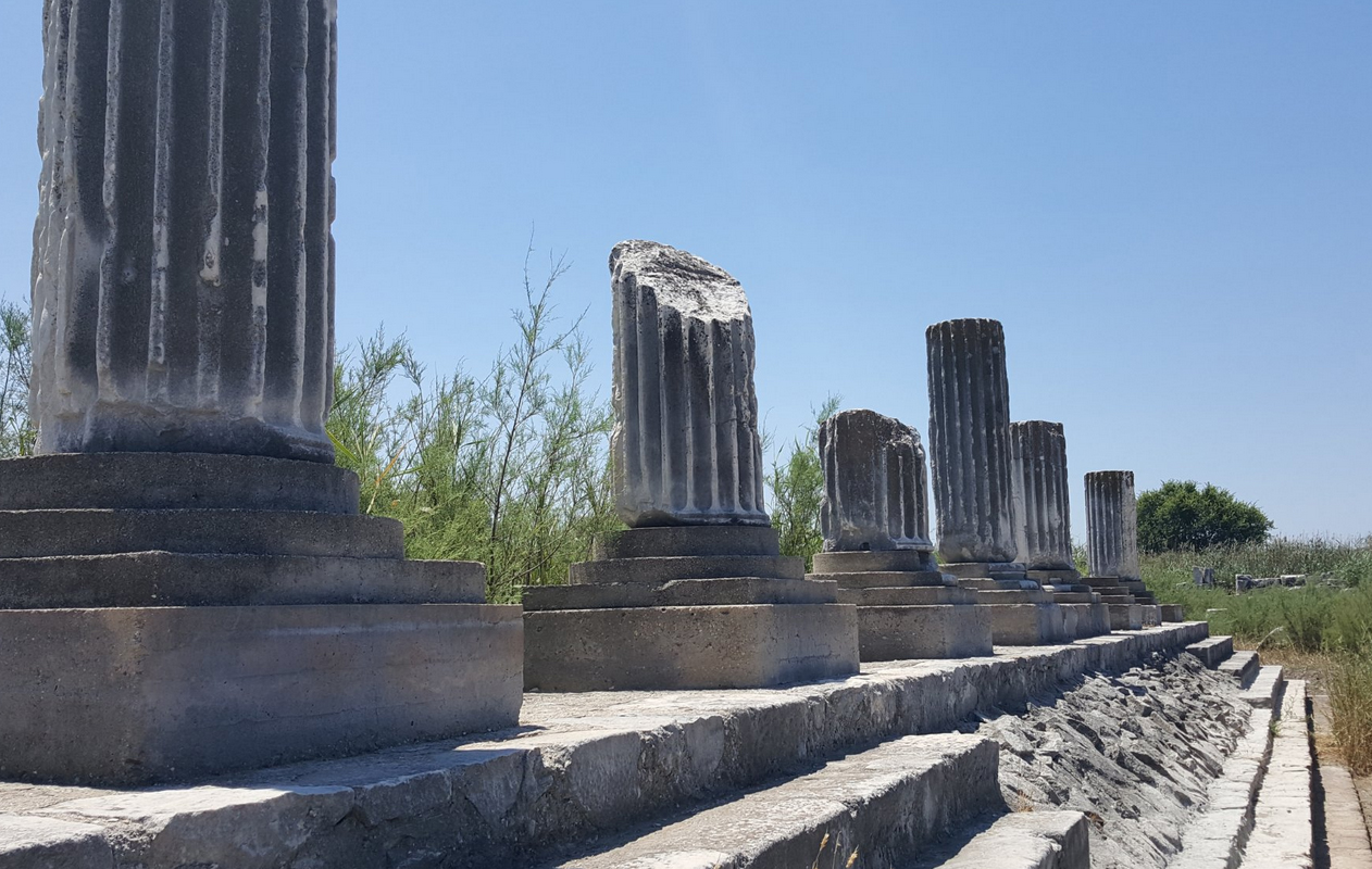 Руины города Милет