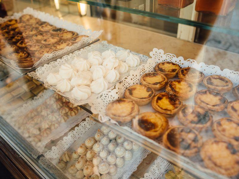 Дегустация португальских сладостей