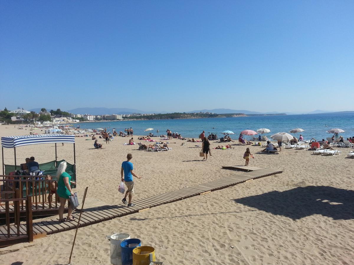Пляж курорта Дидим