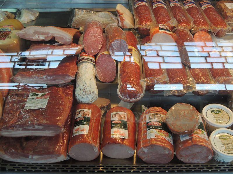 В лавках с португальскими продуктами