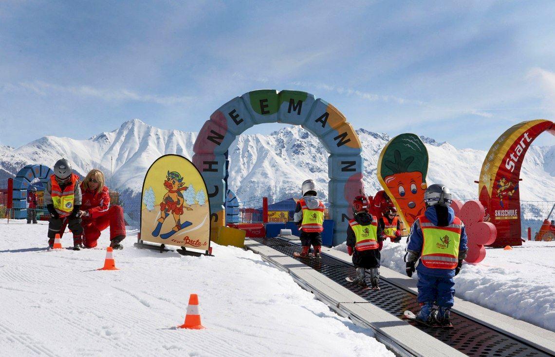 Детская лыжная школа