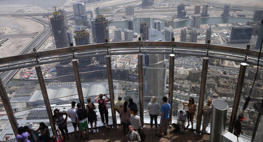 Смотровая площадка Burj Halifa