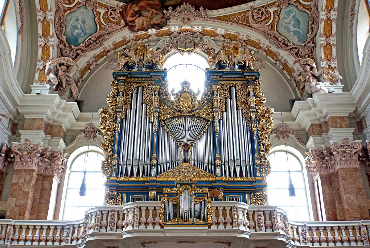 Орган в соборе Святого Якова