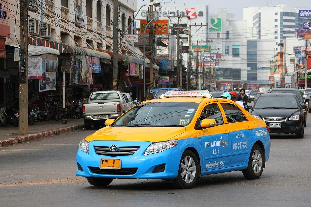 Такси по Паттайе