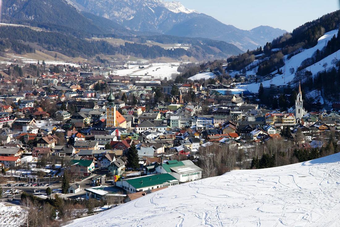 Шладминг в Австрии