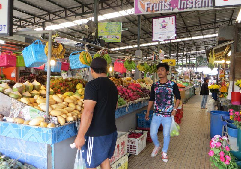 Рынок на Ката бич