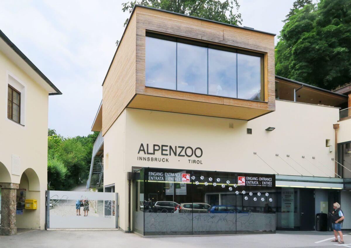 Вход в Alpenzoo