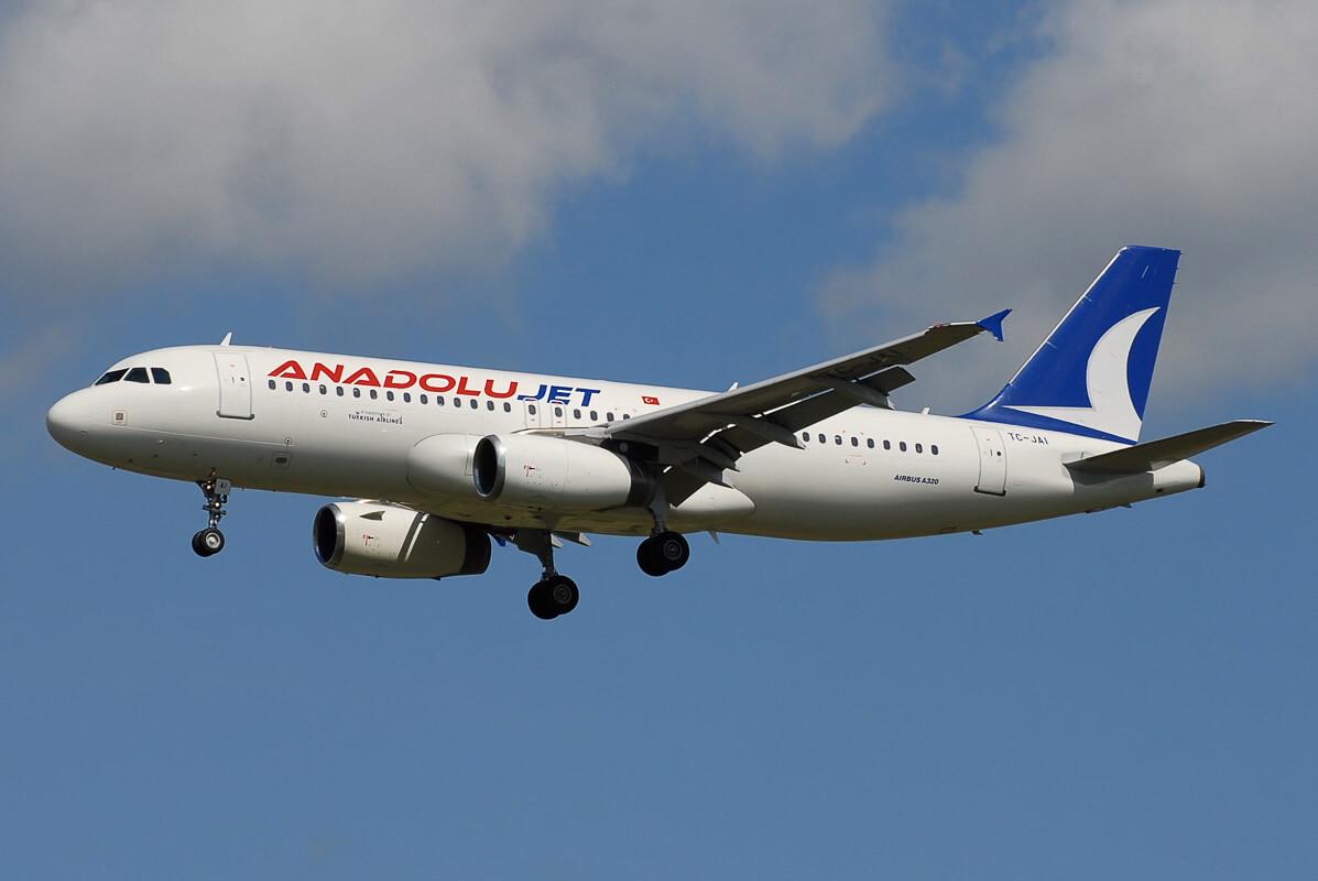 Самолет Anadolu Jet