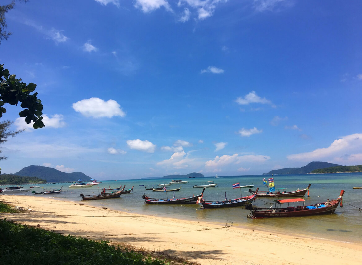 Пляж Rawai beach