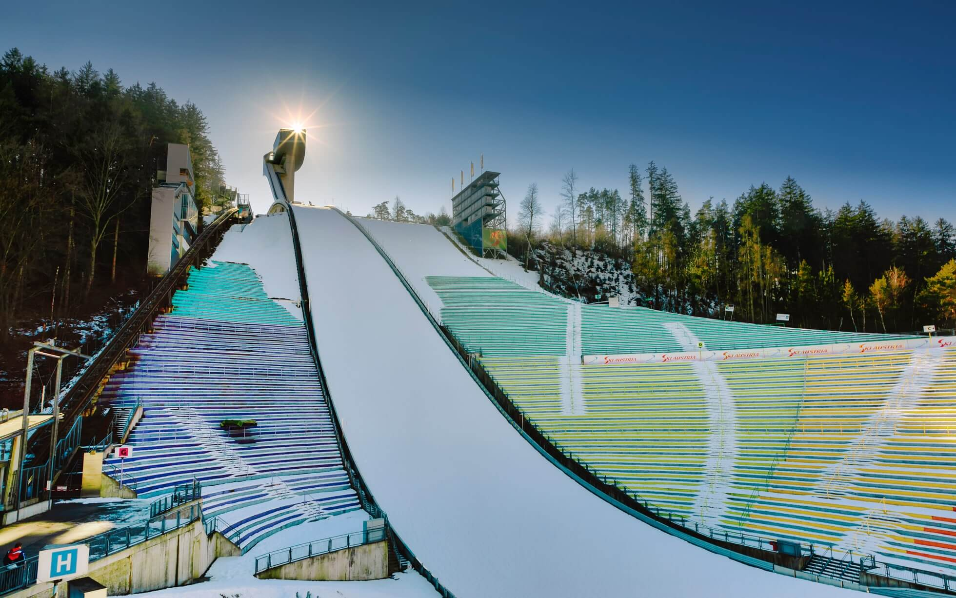 Лыжный трамплин «Бергизель»