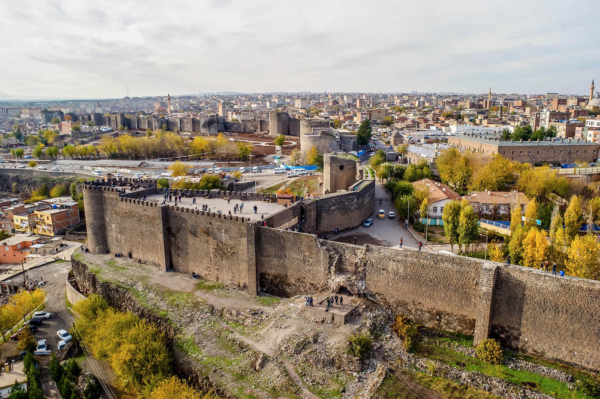 Городские стены Диярбакыр