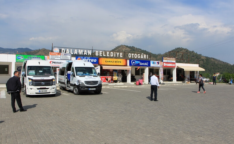 Городской автобусный терминал Даламана