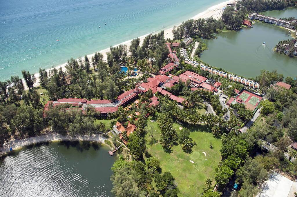 Территория 5* отеля Dusit Thani Laguna Phuket