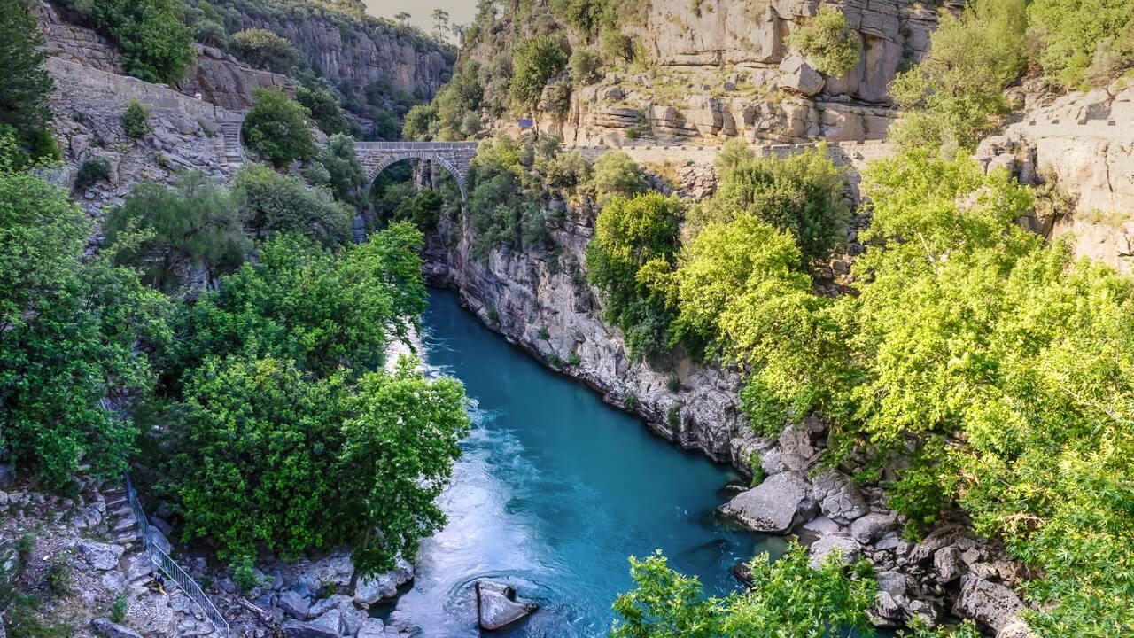 Кёпрюлю каньон, Манавгат