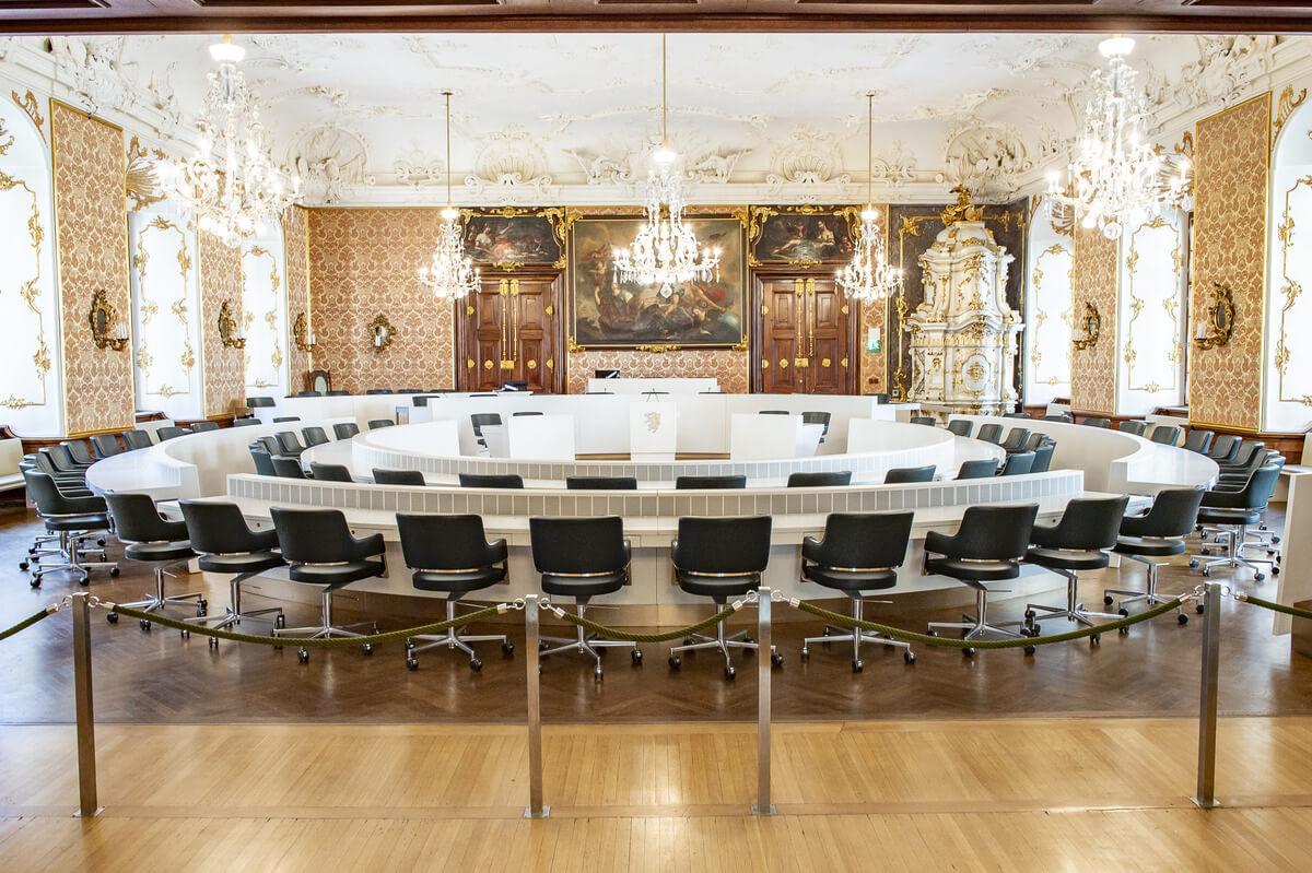Интерьер парламента
