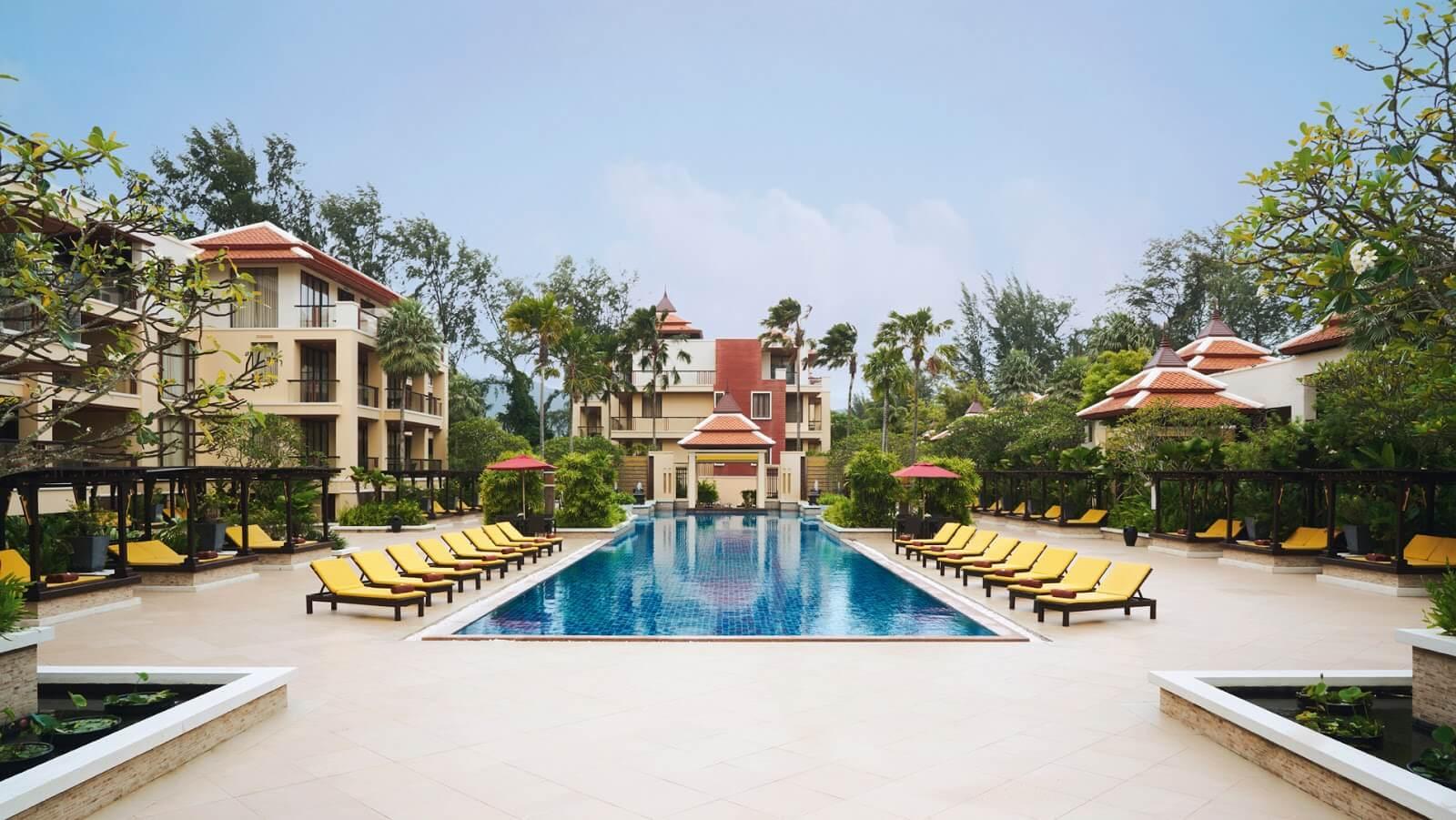 Басейн отеля Mövenpick Resort Bangtao Beach Phuket