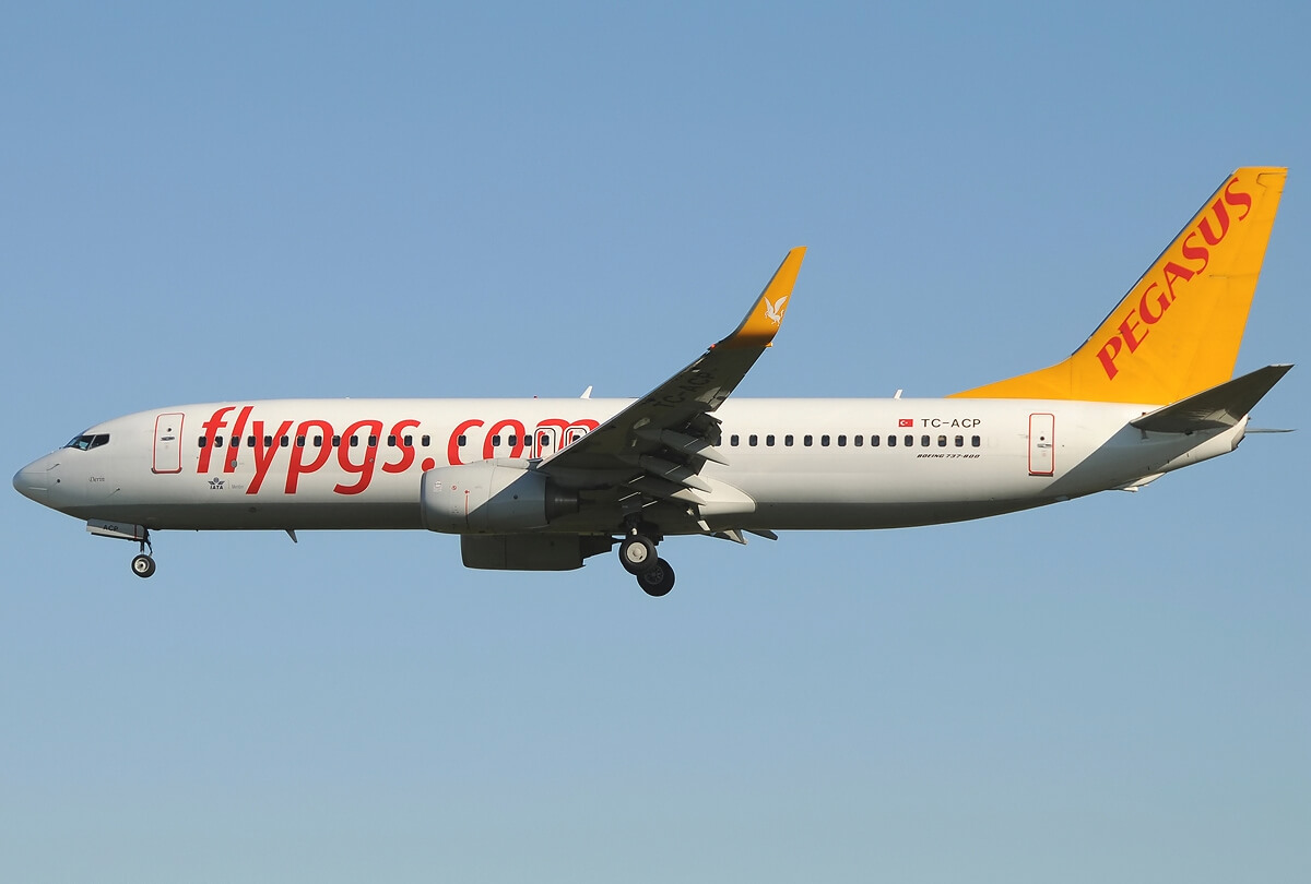 Самолет Pegasus Airlines