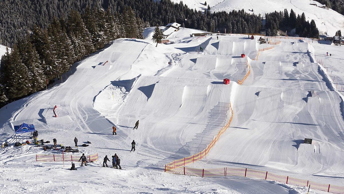Snowpark Китцбюэля