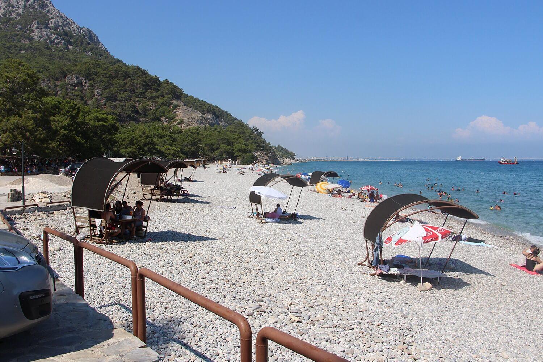 Пляж Топчам
