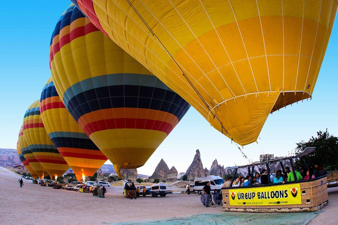 Фирма-организатор Urgup Balloons