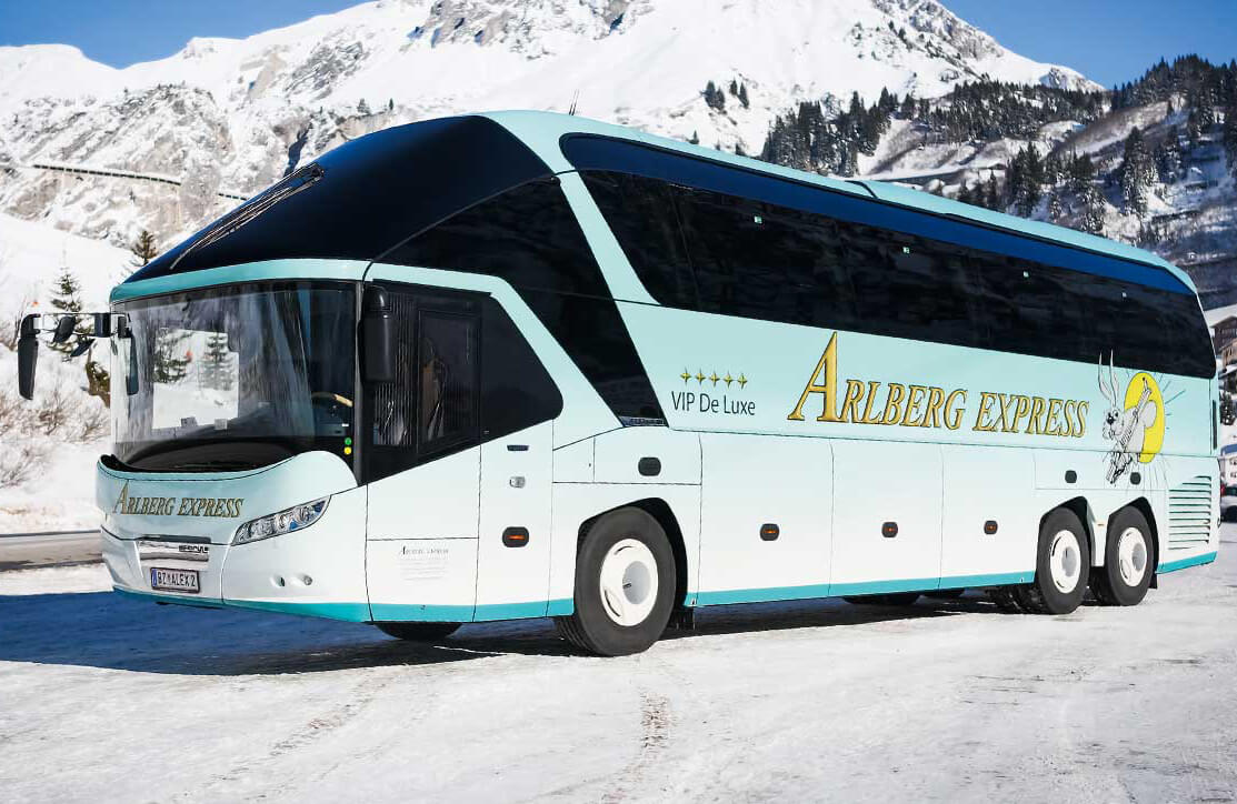 Автобус до Лех, Австрия