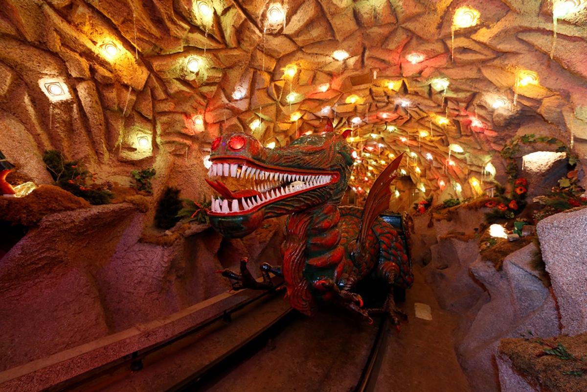 Аттракцион «Пещера гномов»