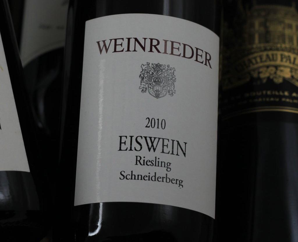Вино «Eiswein»